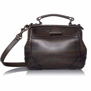 NWT FRYE Charlie Multi Handle Frame Top Handle Bag
